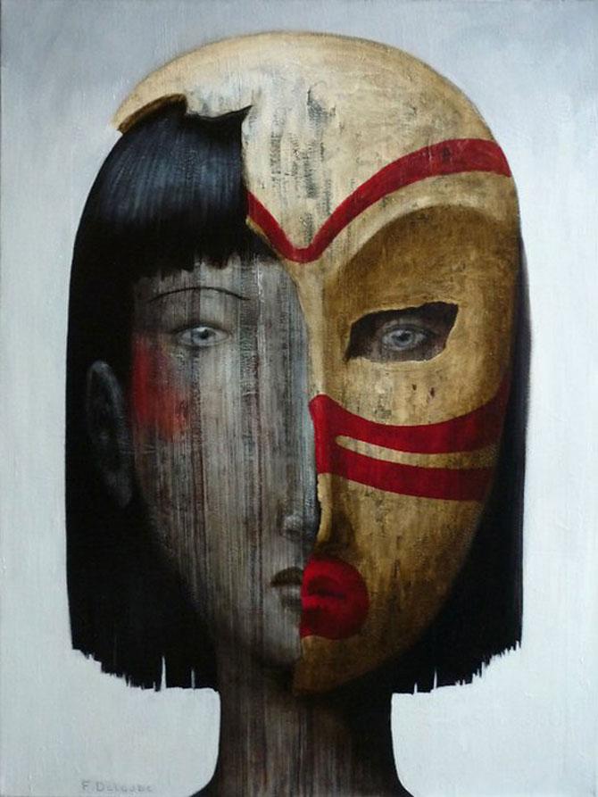 Mastile de sub masca, pictate de Fabien Delaube - Poza 6