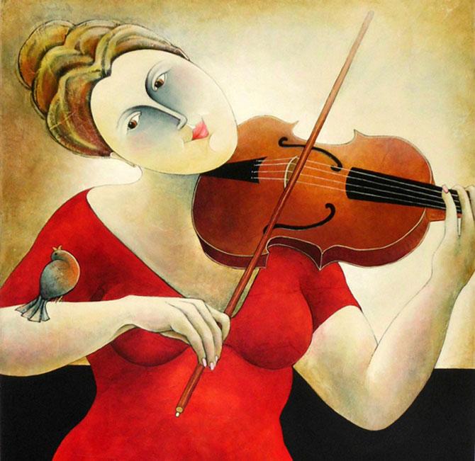 Pisici, femei in stil cubist, cu Carla Raadsveld - Poza 9