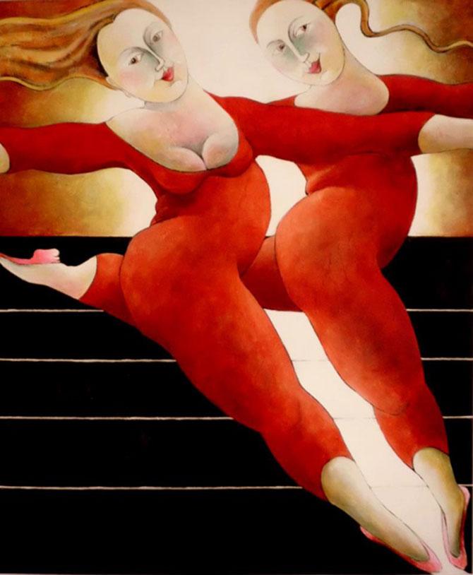 Pisici, femei in stil cubist, cu Carla Raadsveld - Poza 11