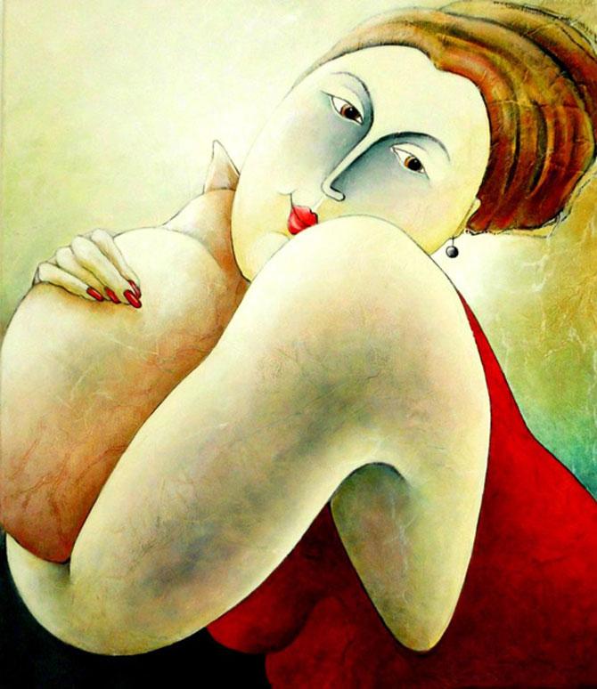 Pisici, femei in stil cubist, cu Carla Raadsveld - Poza 13
