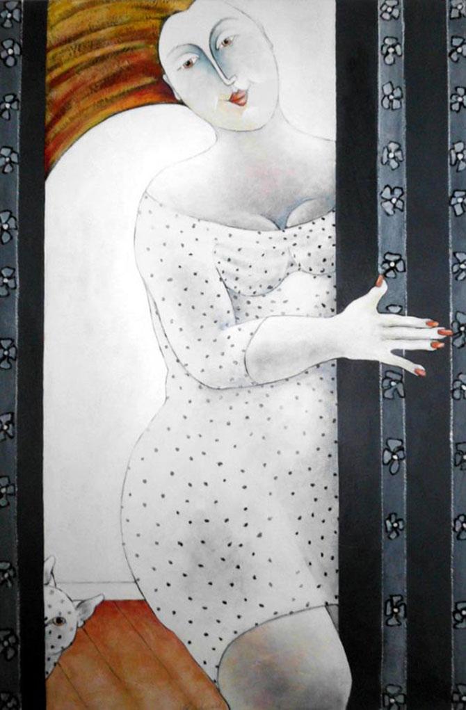 Pisici, femei in stil cubist, cu Carla Raadsveld - Poza 15