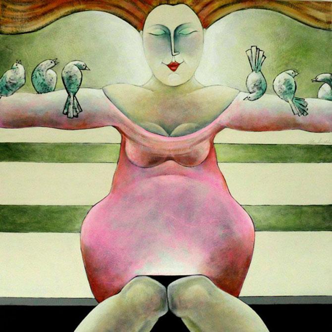 Pisici, femei in stil cubist, cu Carla Raadsveld - Poza 16