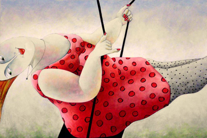 Pisici, femei in stil cubist, cu Carla Raadsveld - Poza 17
