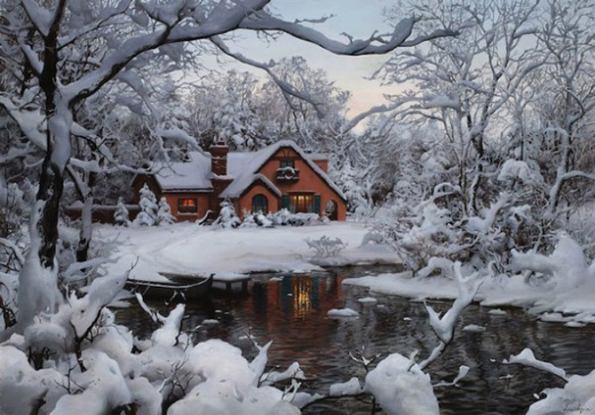 O iarna tihnita cu Evgheny Lushpin - Poza 1