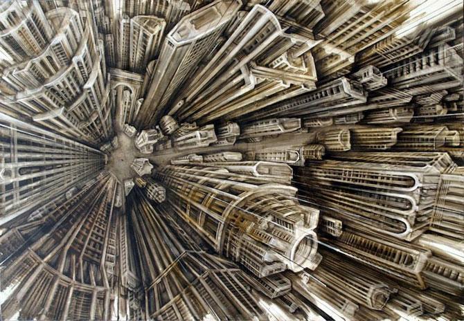 Picturi care provoaca vertij, de Fabio Giampietro - Poza 2