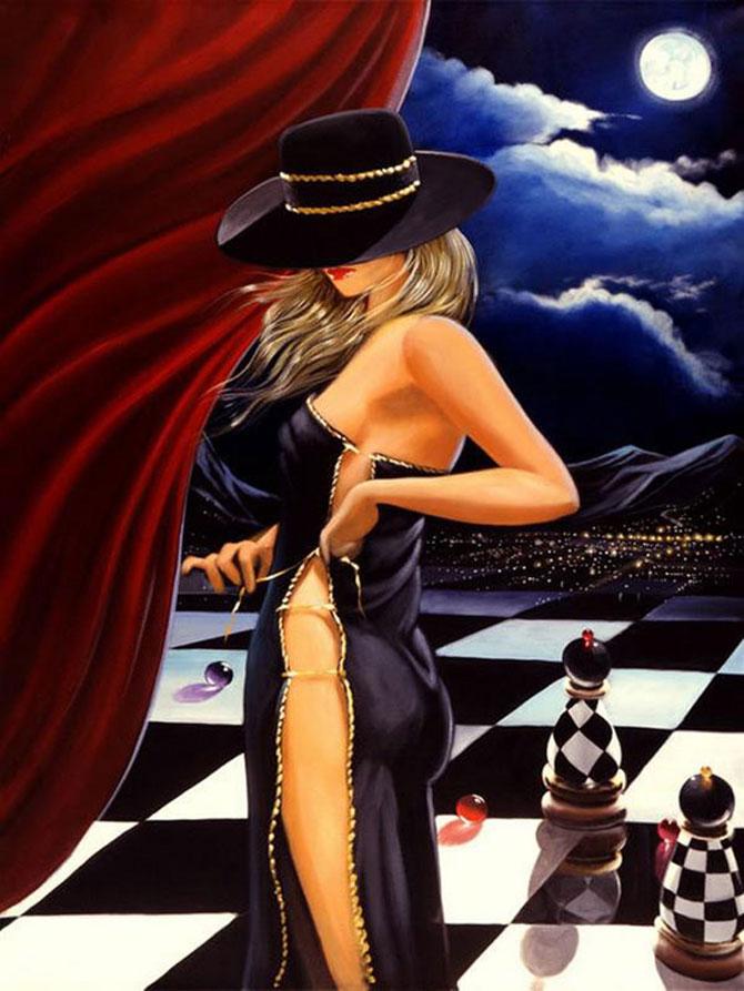 Film noir, pictat de Victor Ostrovski - Poza 6