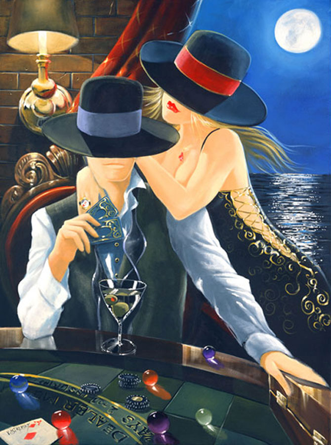Film noir, pictat de Victor Ostrovski - Poza 9