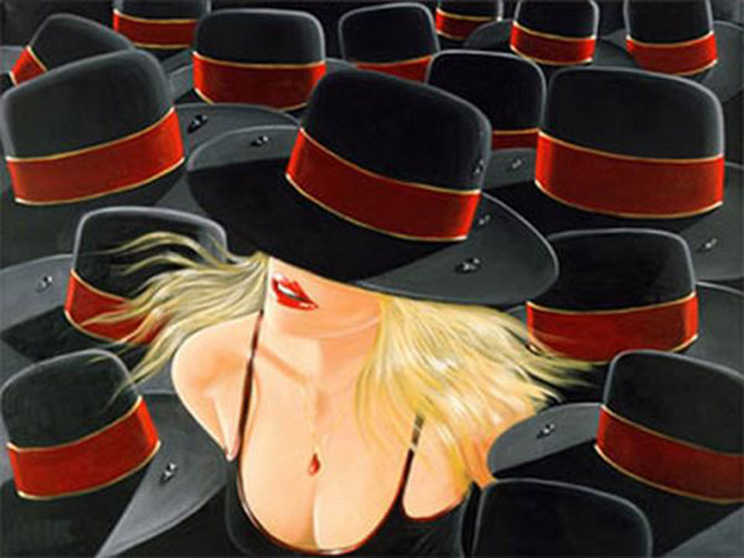 Film noir, pictat de Victor Ostrovski - Poza 11