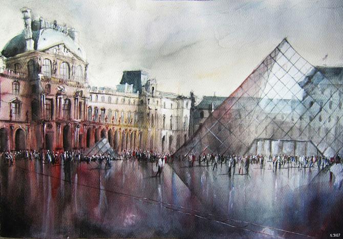 Arhitectura Frantei in picturi de Nicolas Jolly - Poza 1