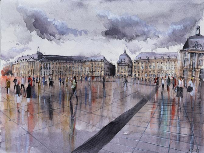 Arhitectura Frantei in picturi de Nicolas Jolly - Poza 2