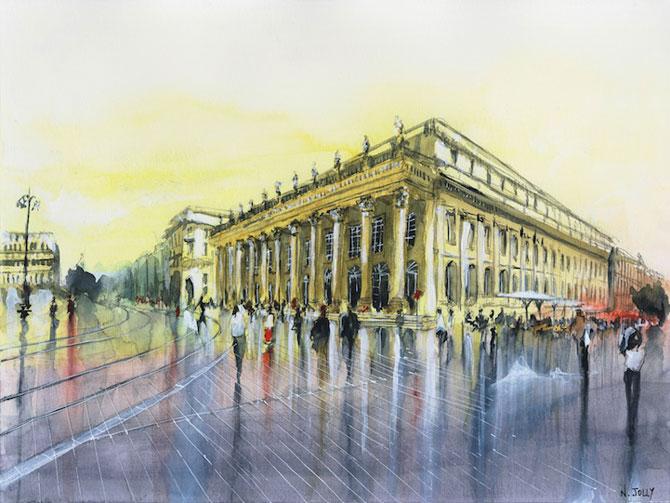 Arhitectura Frantei in picturi de Nicolas Jolly - Poza 3