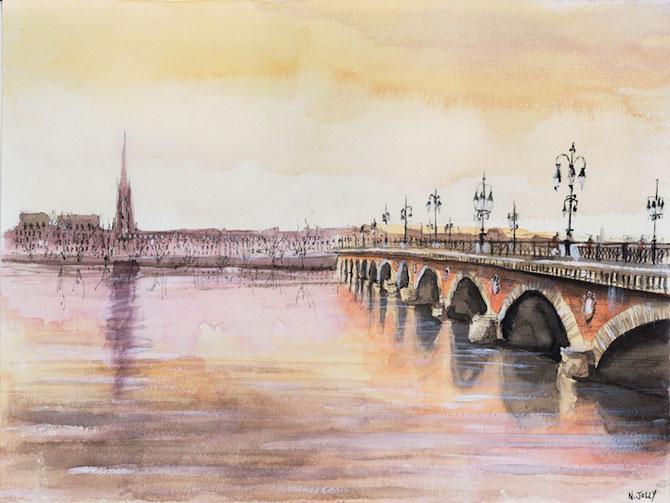 Arhitectura Frantei in picturi de Nicolas Jolly - Poza 4
