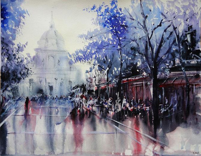 Arhitectura Frantei in picturi de Nicolas Jolly - Poza 6