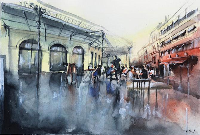 Arhitectura Frantei in picturi de Nicolas Jolly - Poza 7