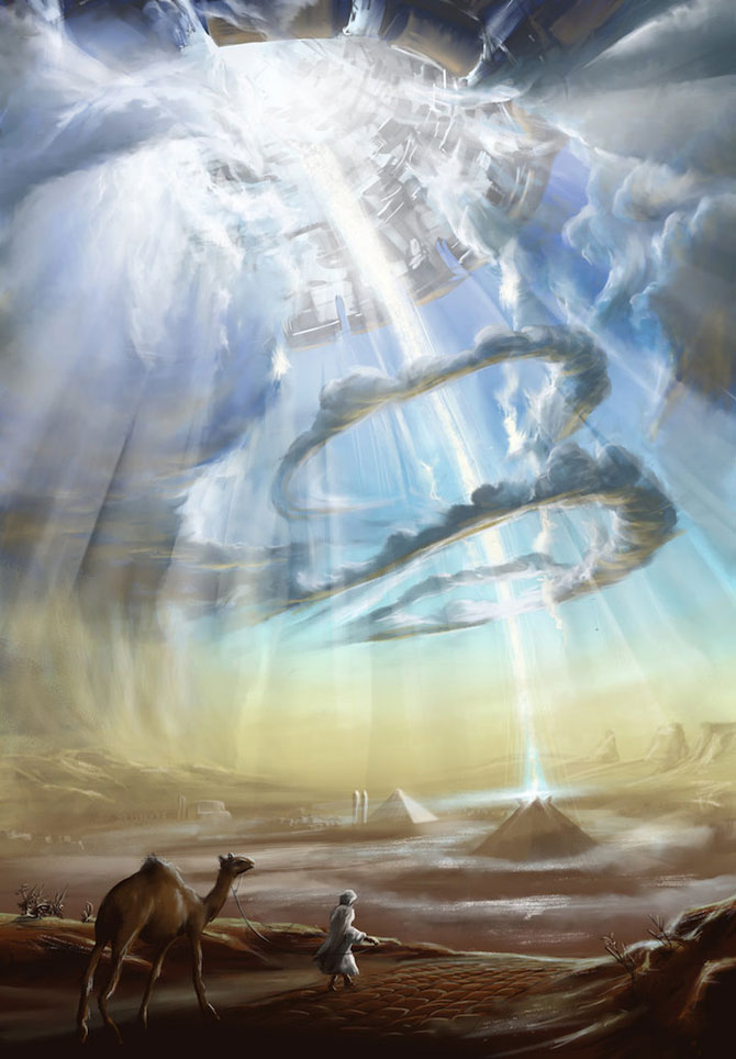 Ceruri spectaculoase, pictate de Alexander Rommel - Poza 3