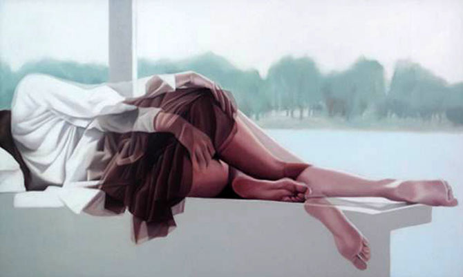 Picturi in ulei cu dubla expunere, de Ho Ryon Lee - Poza 4