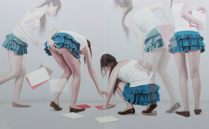 Picturi in ulei cu dubla expunere, de Ho Ryon Lee - Poza 9