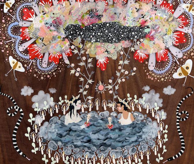 Picturi din lumi fantastice, de Rebecca Artemsia - Poza 1