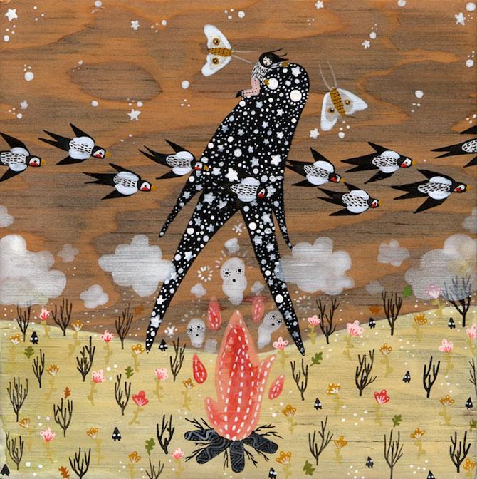 Picturi din lumi fantastice, de Rebecca Artemsia - Poza 3