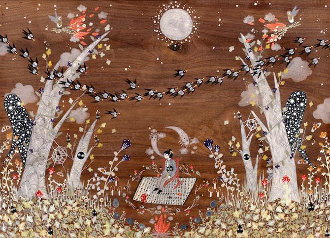 Picturi din lumi fantastice, de Rebecca Artemsia