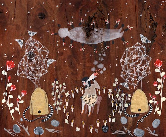 Picturi din lumi fantastice, de Rebecca Artemsia - Poza 6