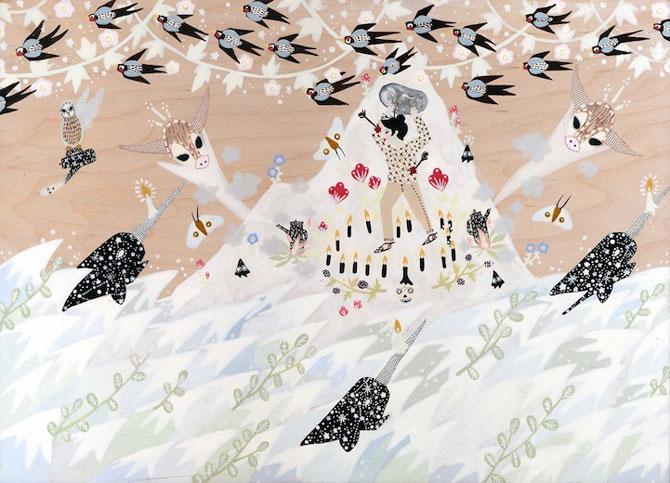 Picturi din lumi fantastice, de Rebecca Artemsia - Poza 9