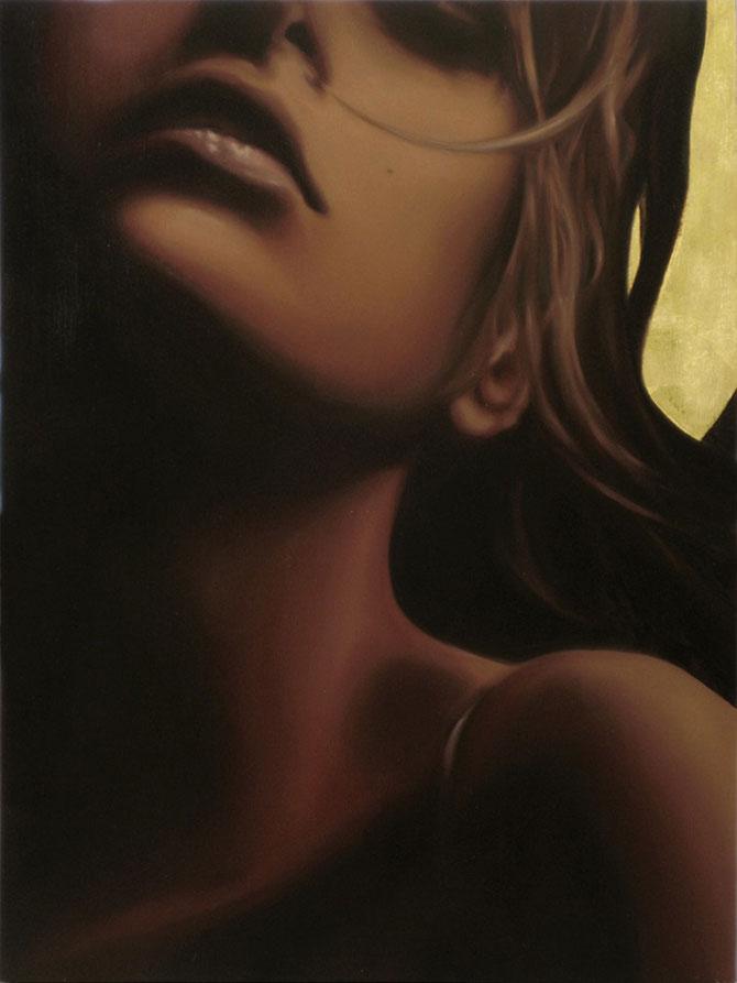 Femeia poleita in aur de 22k - Poza 7