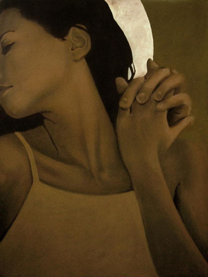 Femeia poleita in aur de 22k - Poza 12