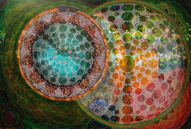 Mandale multicolore, pictate de Amy Cheng - Poza 1