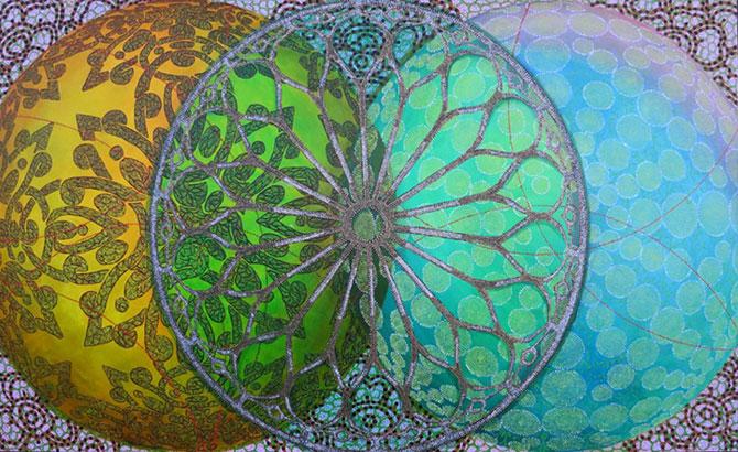 Mandale multicolore, pictate de Amy Cheng - Poza 2