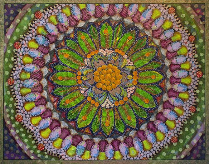 Mandale multicolore, pictate de Amy Cheng - Poza 3