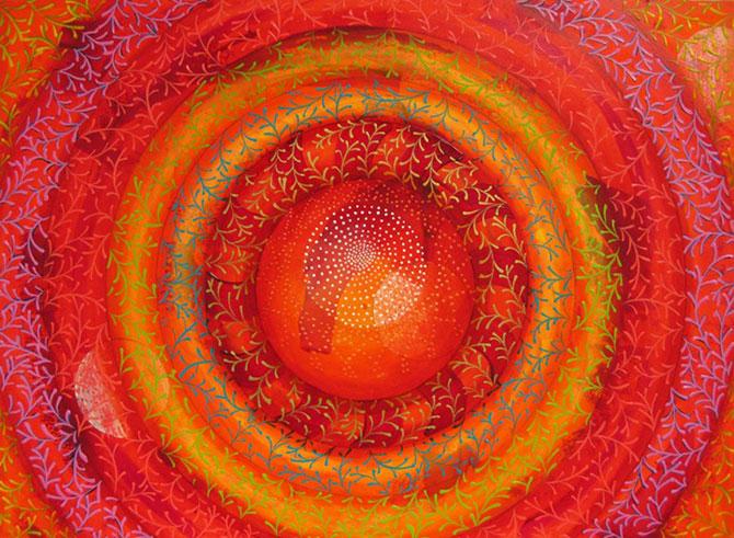 Mandale multicolore, pictate de Amy Cheng - Poza 4