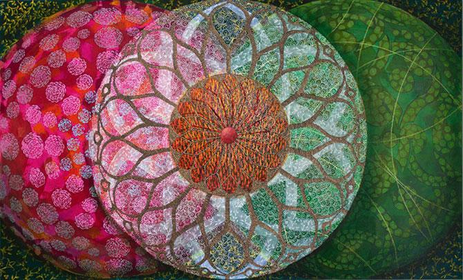 Mandale multicolore, pictate de Amy Cheng - Poza 5
