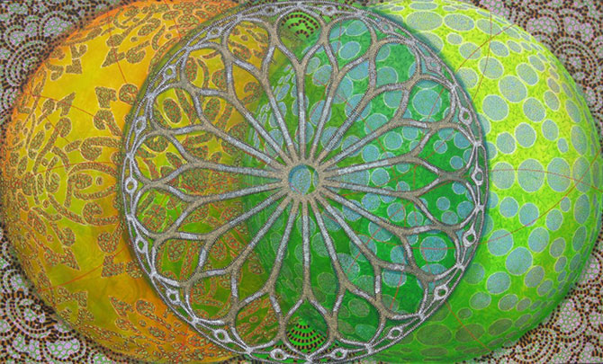 Mandale multicolore, pictate de Amy Cheng - Poza 7