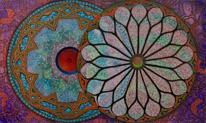 Mandale multicolore, pictate de Amy Cheng - Poza 8