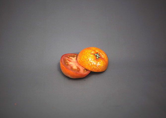 Fructe pictate hiperrealist, de Hikaru Cho - Poza 3