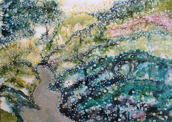 Peisaje delicate, pictate de Yukari Kahori - Poza 1