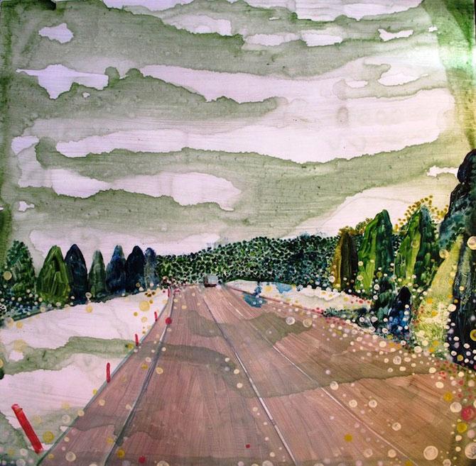 Peisaje delicate, pictate de Yukari Kahori - Poza 3