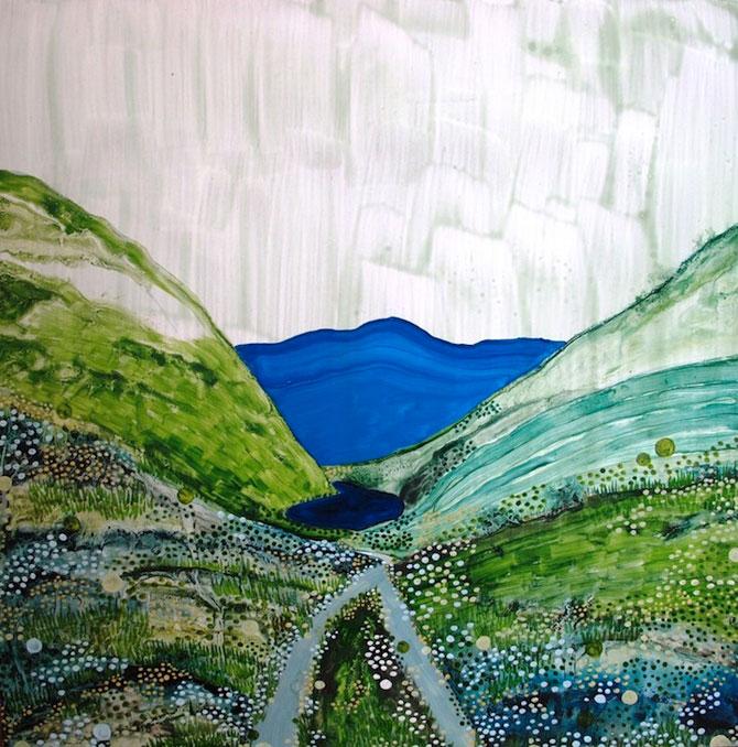 Peisaje delicate, pictate de Yukari Kahori - Poza 4
