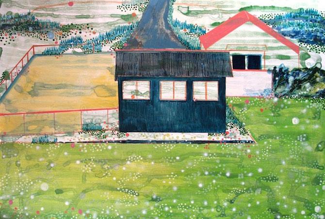 Peisaje delicate, pictate de Yukari Kahori - Poza 6
