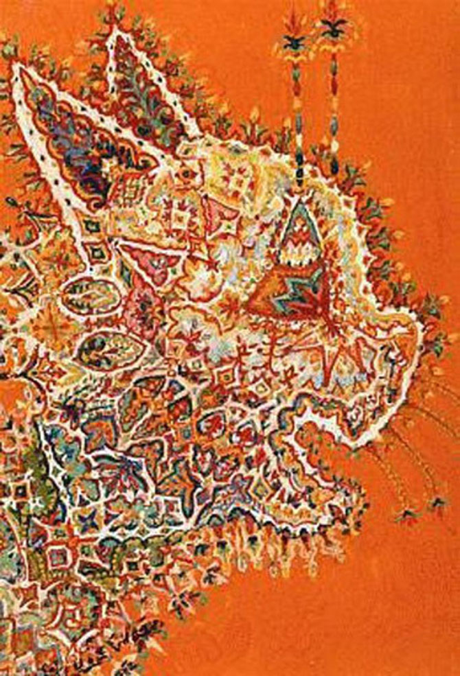 Pisicile psihedelice pictate de Louis Wain - Poza 9