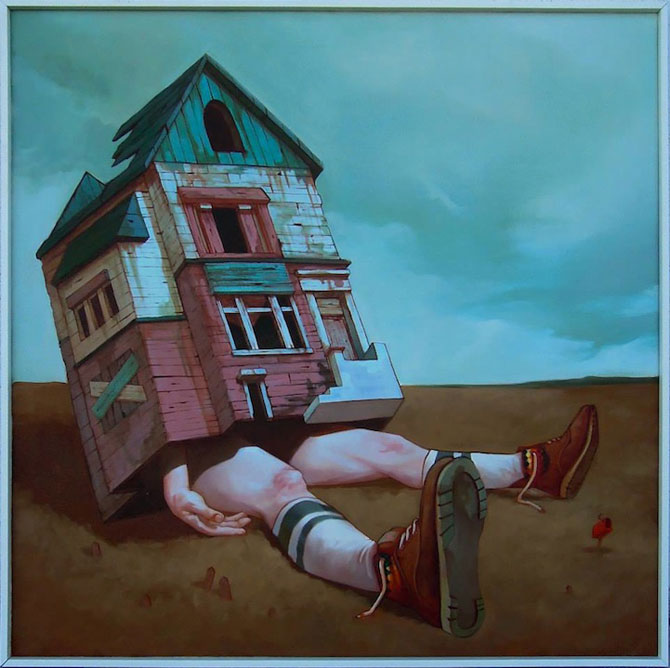 Picturi suprarealiste pe panza, de la Etam Cru - Poza 2