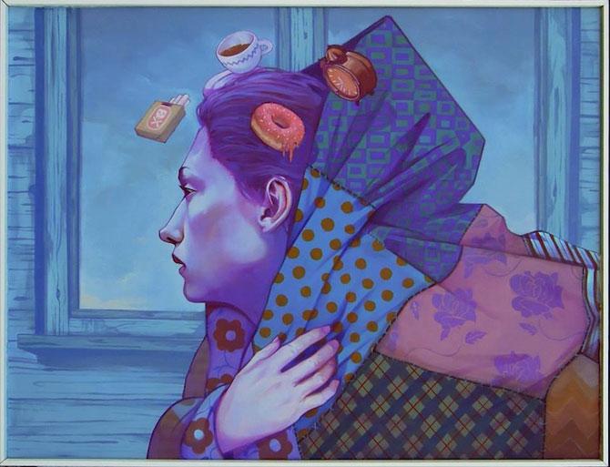 Picturi suprarealiste pe panza, de la Etam Cru - Poza 4