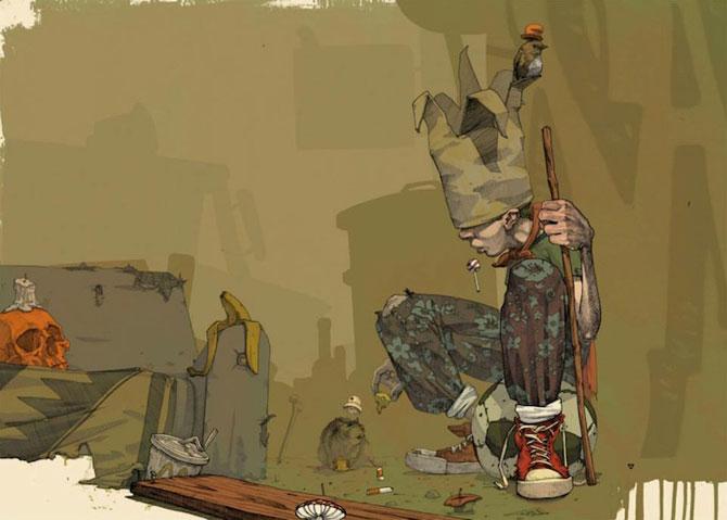 Picturi suprarealiste pe panza, de la Etam Cru - Poza 7