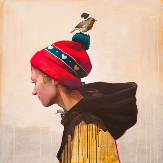 Picturi suprarealiste pe panza, de la Etam Cru - Poza 9