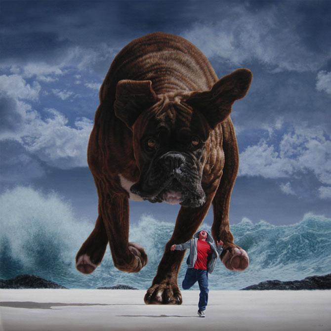 Picturi suprarealiste spectaculoase de Joel Rea - Poza 1