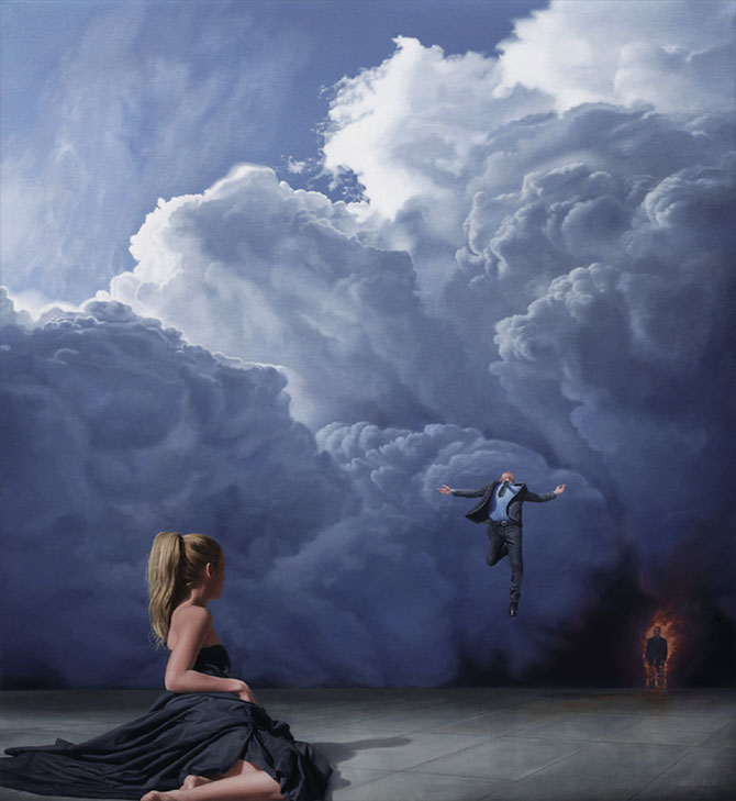 Picturi suprarealiste spectaculoase de Joel Rea - Poza 3