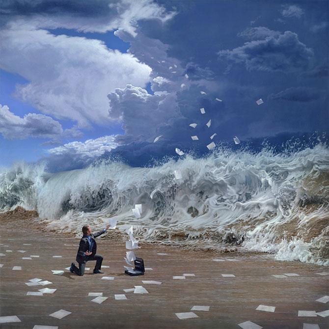 Picturi suprarealiste spectaculoase de Joel Rea - Poza 4