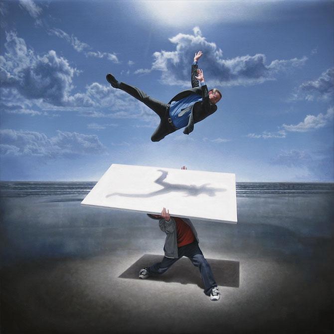 Picturi suprarealiste spectaculoase de Joel Rea - Poza 5