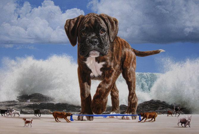 Picturi suprarealiste spectaculoase de Joel Rea - Poza 6